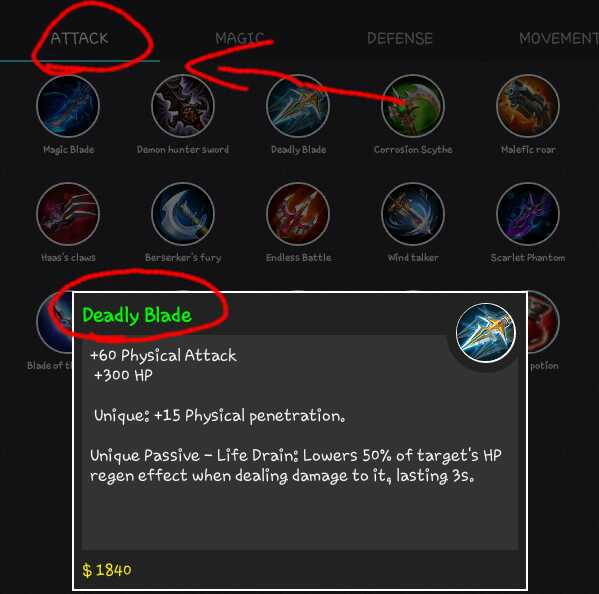 Gear Dan Build Item Saber Mobile Legend Terbaru Ala Top Player Yang Sangat Mematikan
