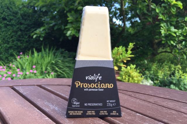 VEGANOO Vegan Reviews: New: Violife 'Prosociano' Vegan Parmesan