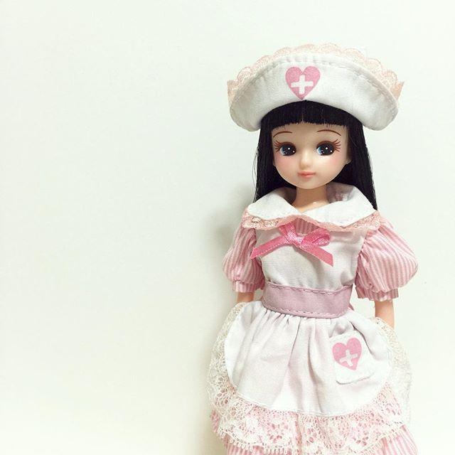 boneca Licca Enfermeira