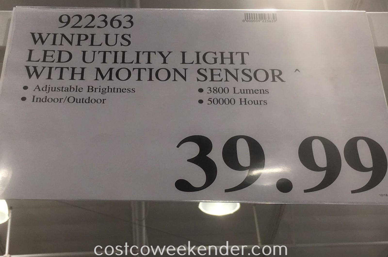 Costco Led Shop Light Motion Sensor