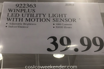 Deal for the Winplus LED Utility Light with Motion Sensor at Costco