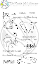Cattitude Clear Stamp Set 4x6
