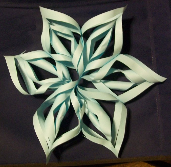 Learning Crafty: 3D Snowflake