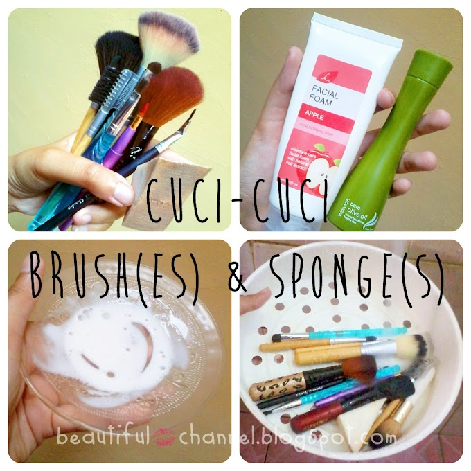 Clean Brushes (and Sponges) = Healthy Face!