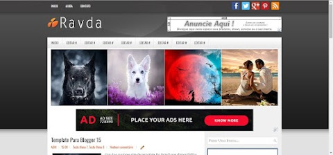 Ravda Blogger Template