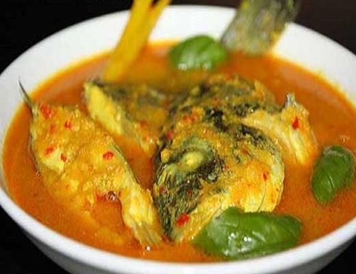 Resep Ikan Mujair Bumbu Kuning beserta cara memasaknya