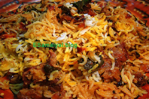 ஹைதராபாதி நிஜாமி பிரியாணி செய்முறை | Hydrabad Nijami Briyani Recipe !