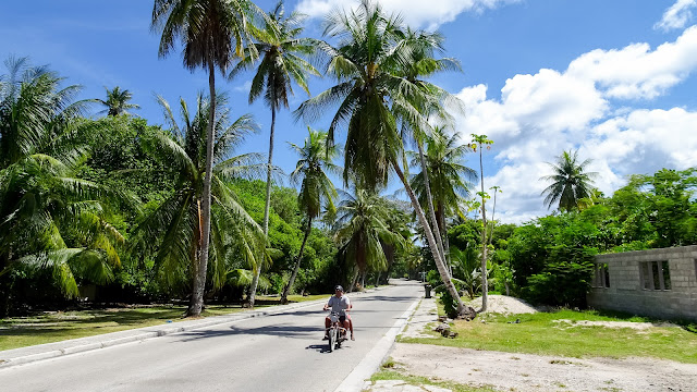 Lots of motorized vehicles in Nauru