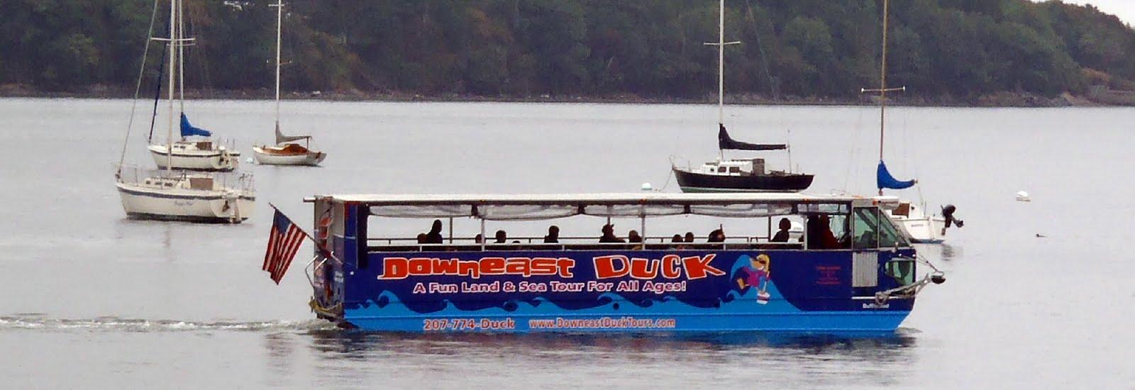 The Duck Tour Portland Maine