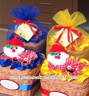 souvenir tempat tisu natal