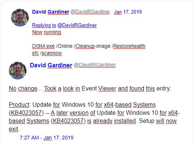 Windows 10 KB4023057 Dirilis Ulang, Gagal Menginstal Dengan Error 0x80070643