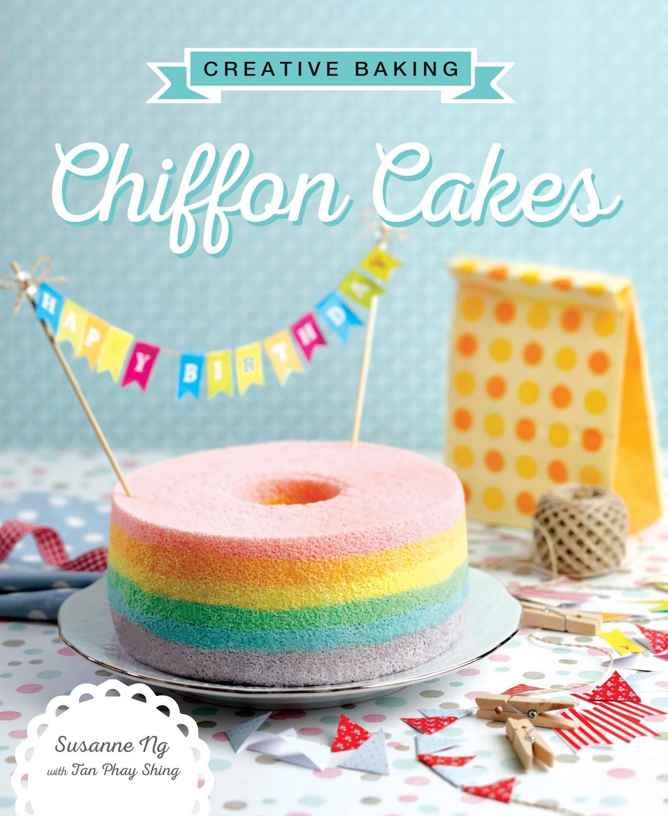 Loving Creations For You Unicorn Rainbow Tier Chiffon Cake