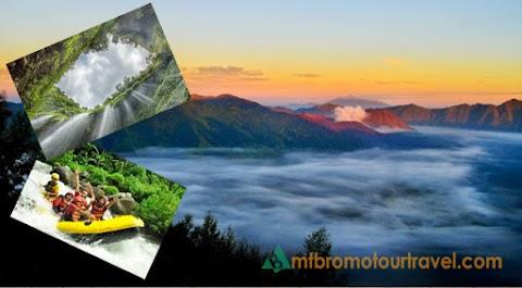 Mount Bromo, Waterfall and Water Rafting Tour 3 days