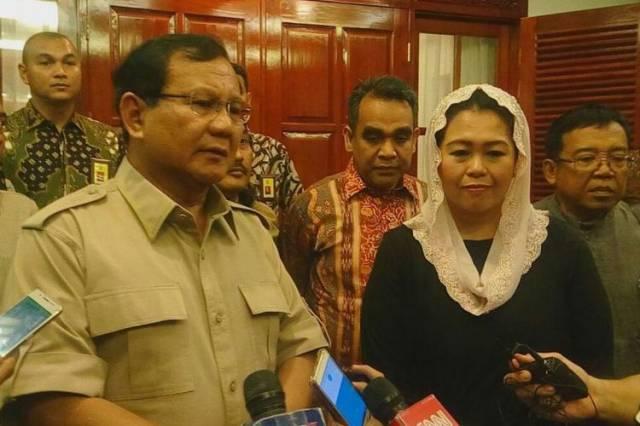 Strategi Prabowo Meminang Yenny Wahid