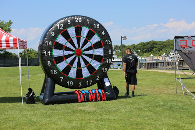 Inflatable darts, dart game, event inflatables