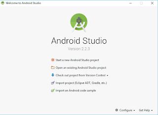 Android Studio Terbaru