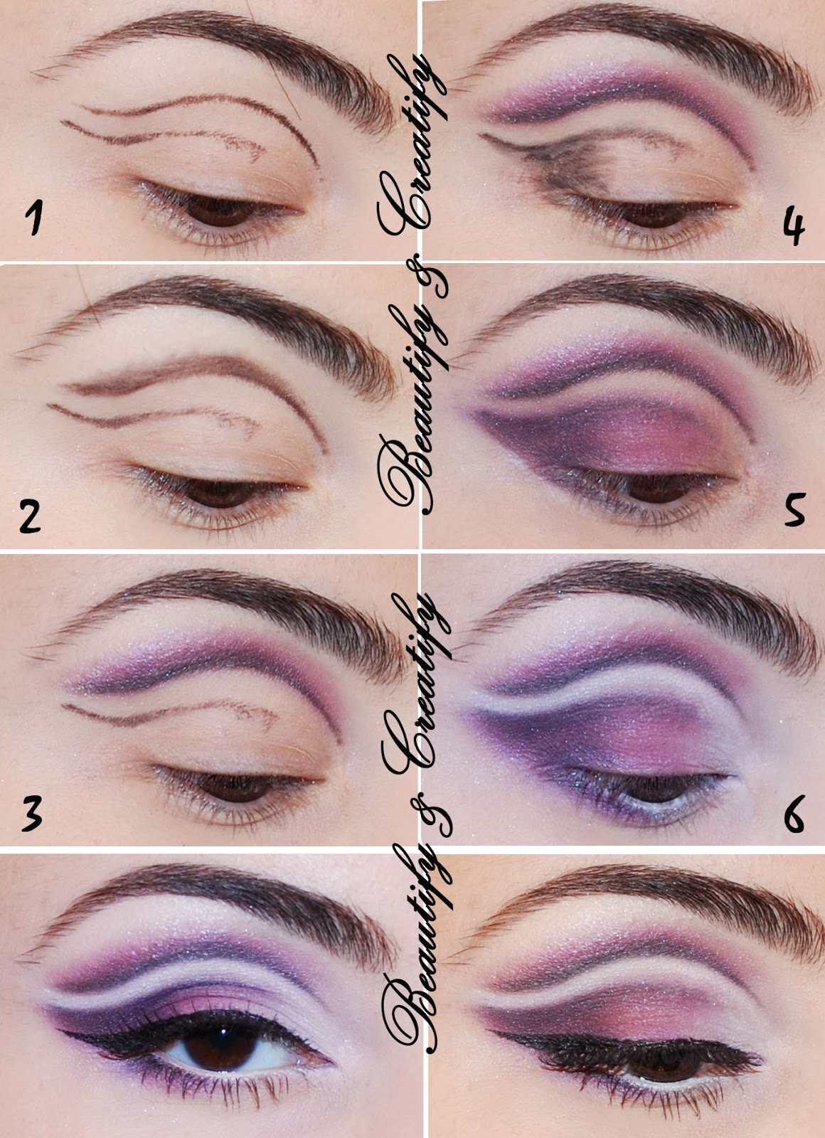 Cut Crease Makeup: Beautify And Creatify: April 2013