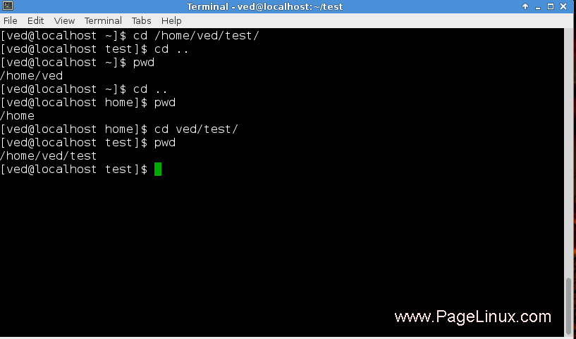 Absolute Path Vs Relative Path In Linux : Simple Linux: The