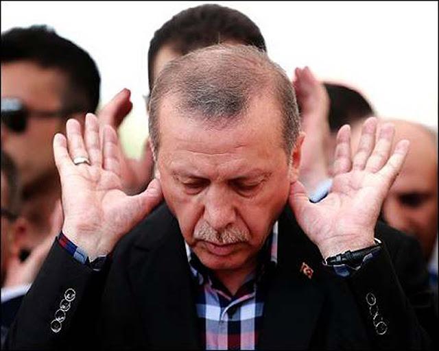 Ο Ερντογάν παρουσιάζεται και σαν… ειρηνοποιός!