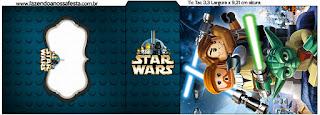 Etiqueta Tic Tac para imprimir gratis de  Star Wars Lego.