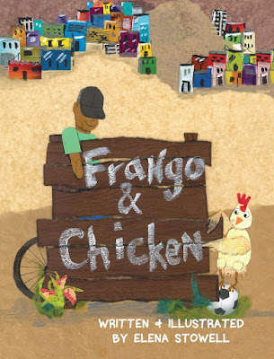 Set in Brazil and with a mix of English and Portuguese, Frango teachers a valuable lesson: Difficult does not mean impossible. #FrangoandChicken #NetGalley #ChildrensLit #PictureBook