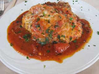 شرائح دجاج بيتزايولا على الطريقة الإيطالية