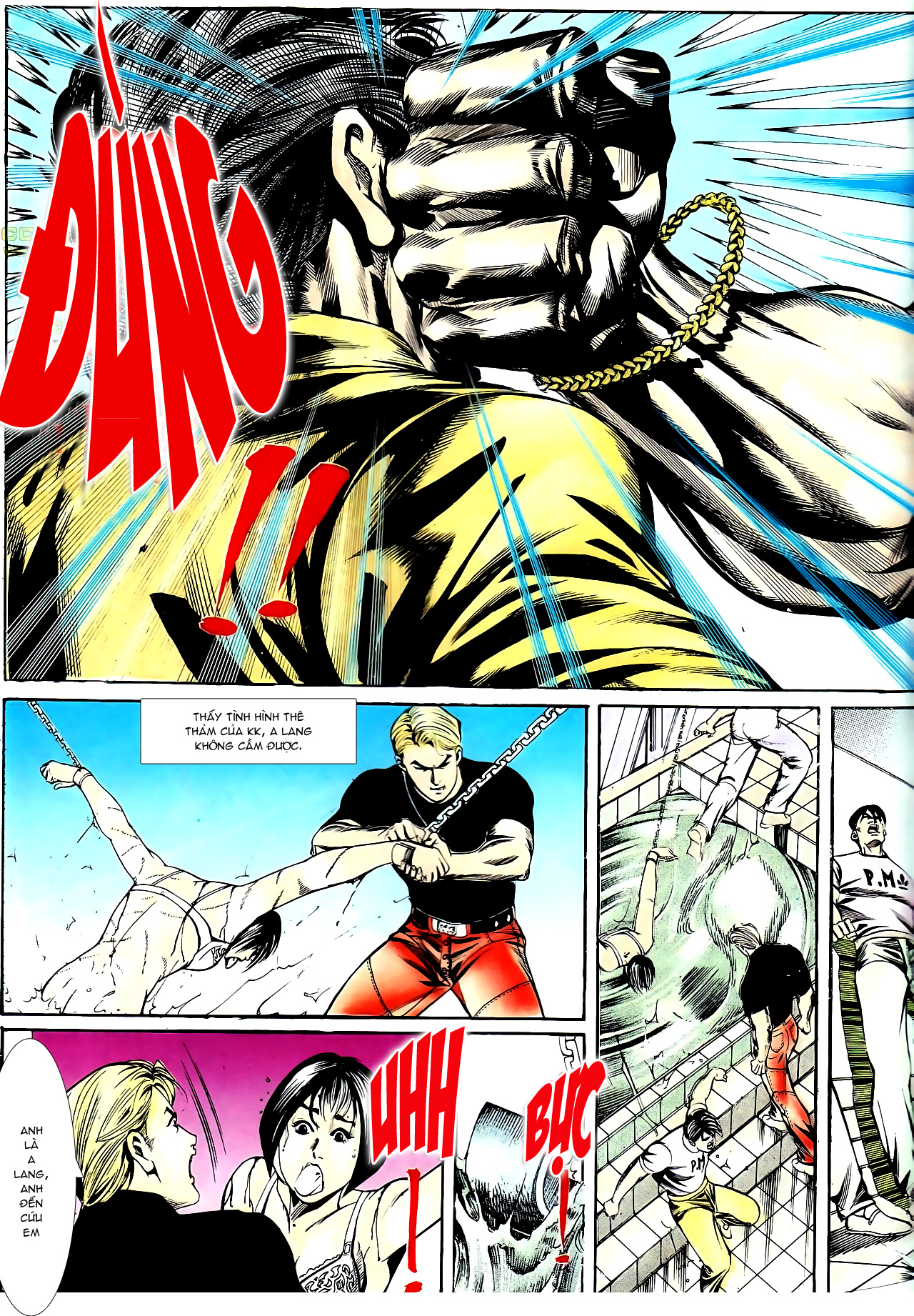 Người Trong Giang Hồ chapter 140: vây giết a khôn trang 29