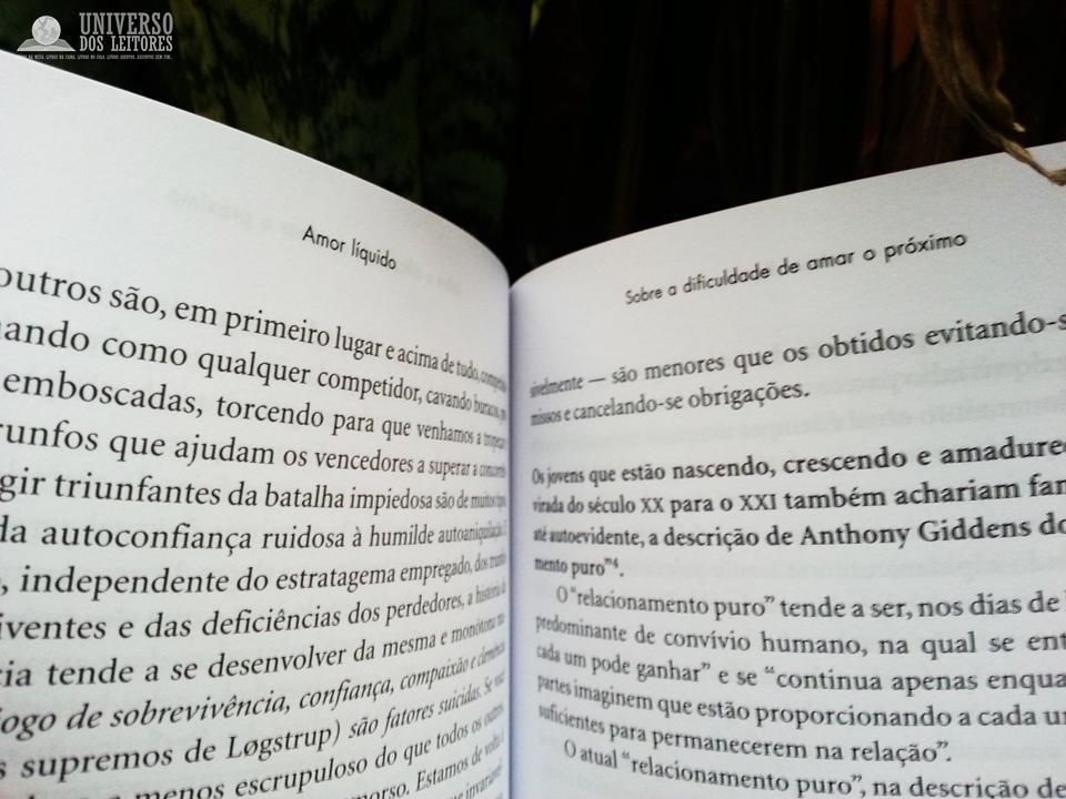 Amor Segundo Filósofos: UNIVERSO DOS LEITORES: Amor Líquido De Zygmunt Bauman