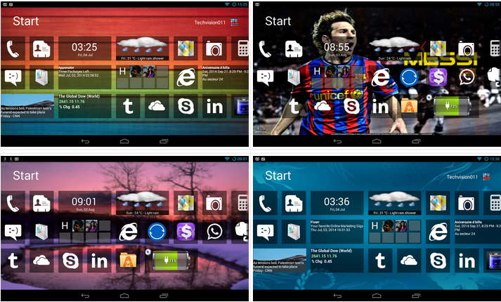 Home8+ like Windows 8 Launcher v3.7 APK