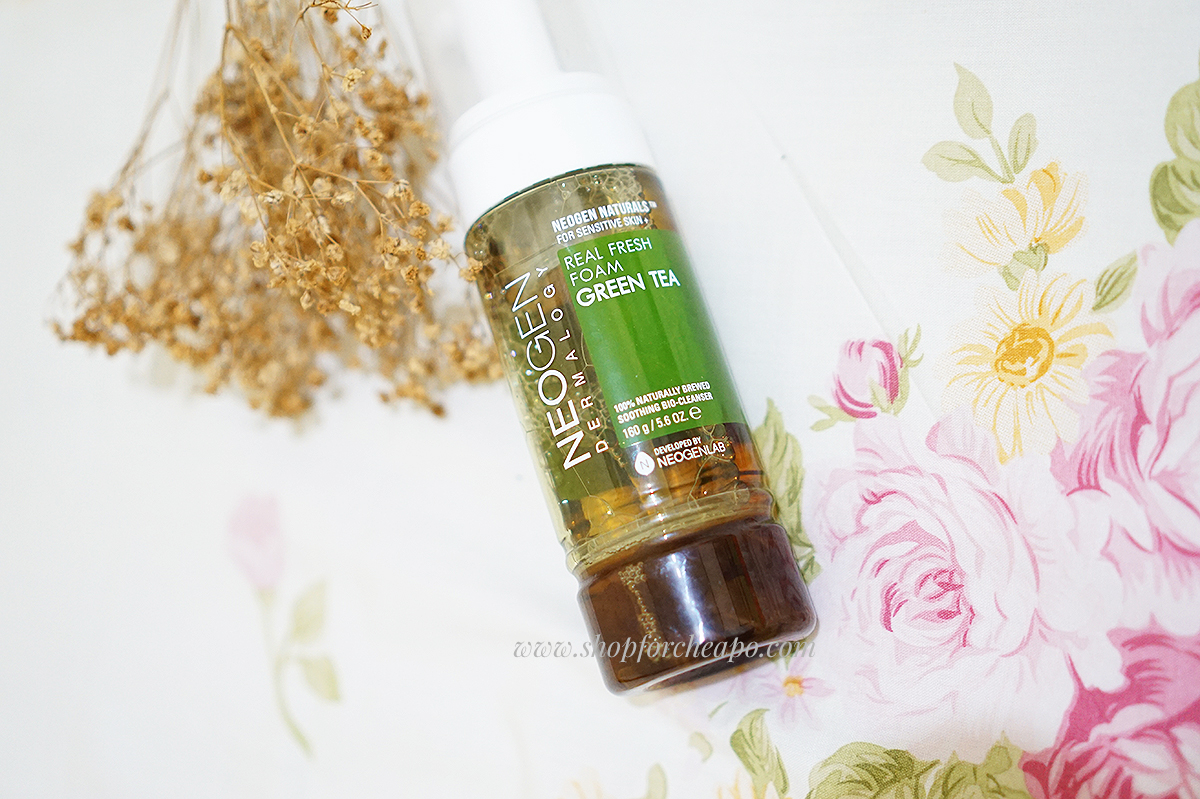 Neogen Real Fresh Foam Cleanser Green Tea review indonesia