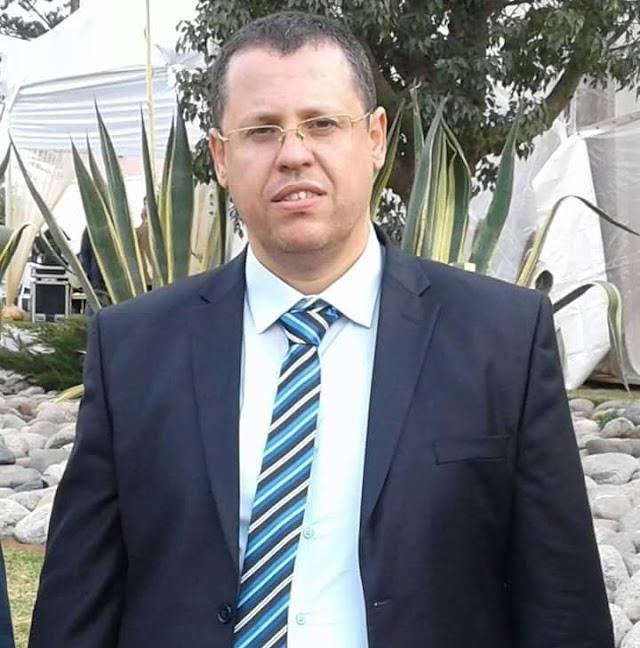 هشام العباسي نائب رئيس المجلس الجماعي لبرشيد يرفض تسلم سيارة جديدة