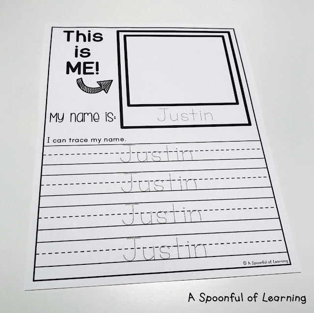 Name Activities - Trace and Write Names 3
