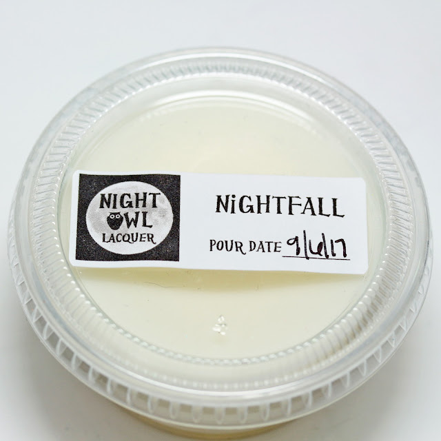 Night Owl Lacquer Nightfall wax