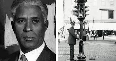 Garrett Morgan, inventor of the T-shaped pole traffic signal
