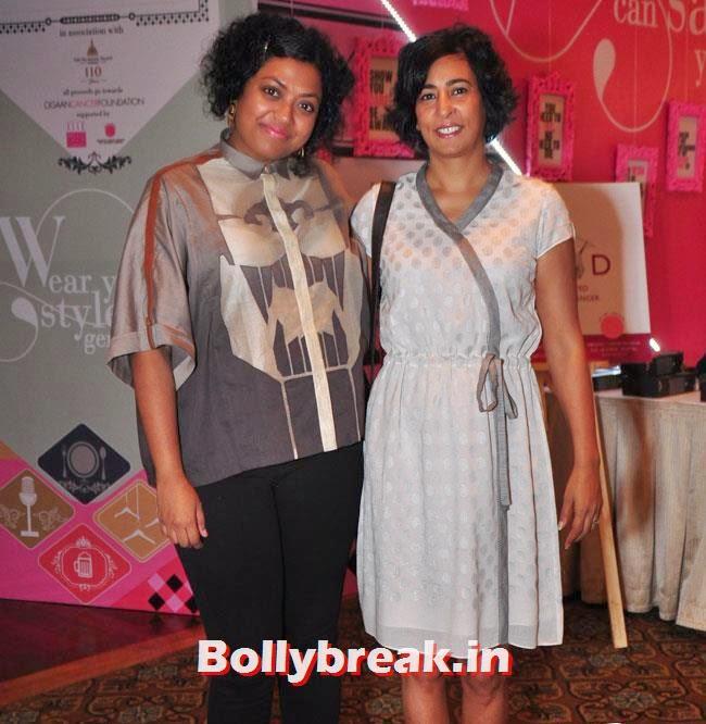 Aishwarya Subramanyam and Archana Pillai, Esha Gupta at ELLE Carnival For A Cause Events