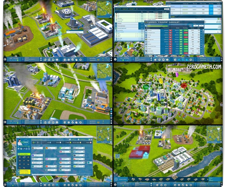 โหลดเกมสร้างเมือง เกมบริหารเมือง เกมจำลองชีวิต