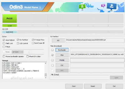 manually update android version use odin easy