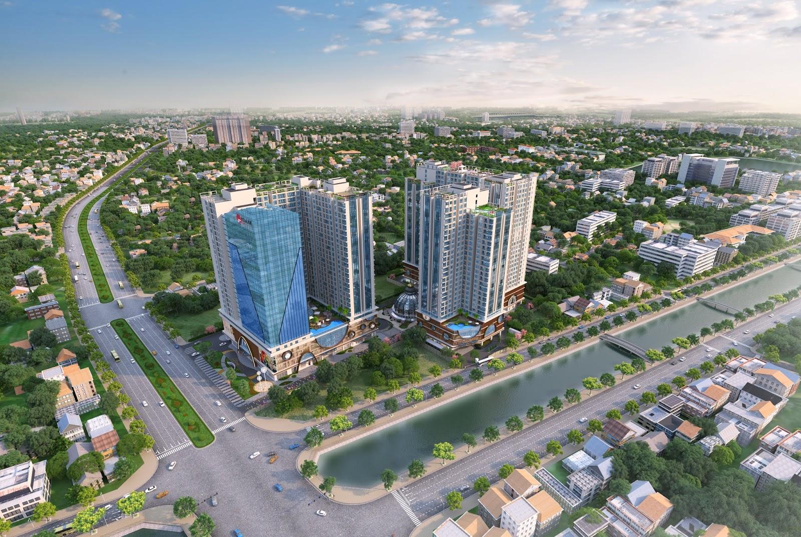 Hinode city là tổ hợp căn hộ cao cấp trung tâm quận Hai Bà Trưng