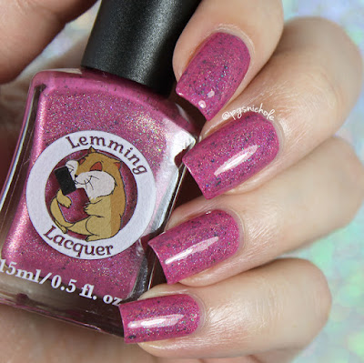 Lemming Lacquer Frabjois Day | A Very Merry Un-Birthday Collection