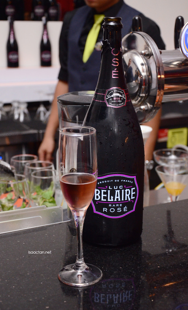 Luc Belaire Rare Rose, good stuff