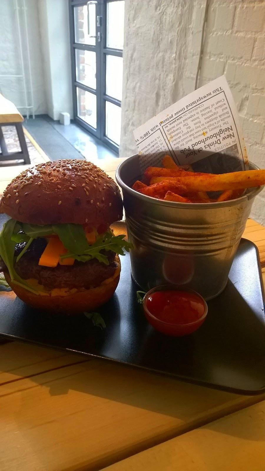 le qulkuri jyväskylä ravintola arvio burgeri bureri