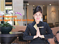 Lowongan Resepsionis / Front Dest Agent - Hotel Grand Zuri Padang Agustus 2018