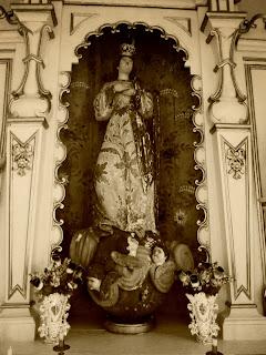 Imagem de Nossa Senhora do Socorro, na Fazenda do Socorro, em Vacaria