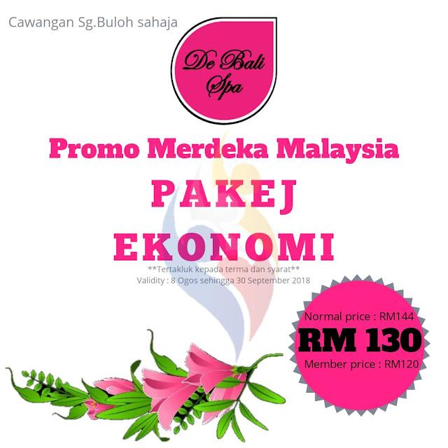 PROMOSI MERDEKA MALAYSIA ~ PAKEJ EKONOMI PADA HARGA RM130 SAHAJA