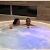 Vincent Enyeama & Wife, Promise In A Hot Tub