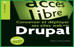 Livre PDF [ Concevoir ses sites avec DRUPAL ]