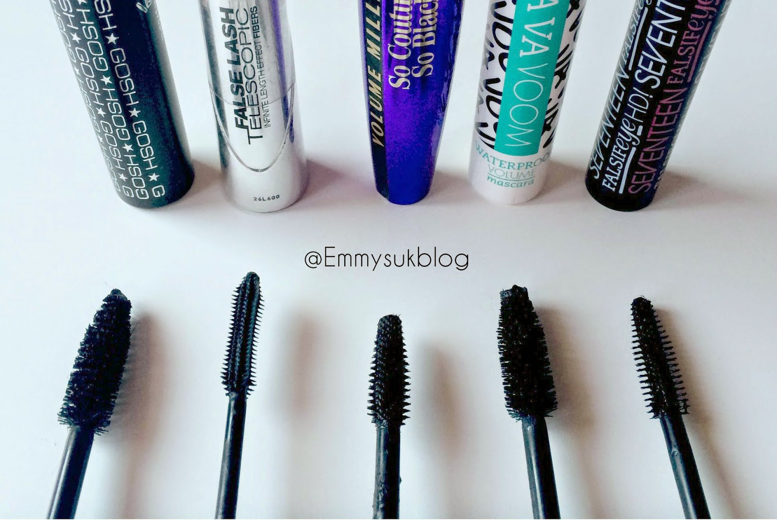 Top 5 Mascara's For Short Eye Lashes