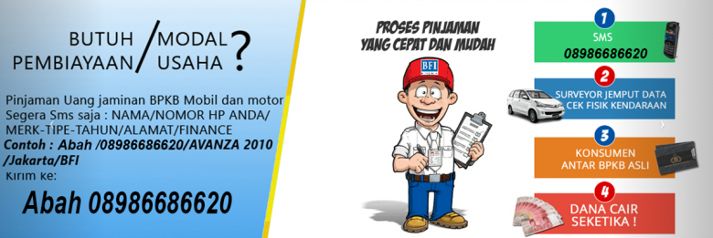 BFI FINANCE - Dana Tunai Jaminan BPKB: Gadai BPKB mobil di ...