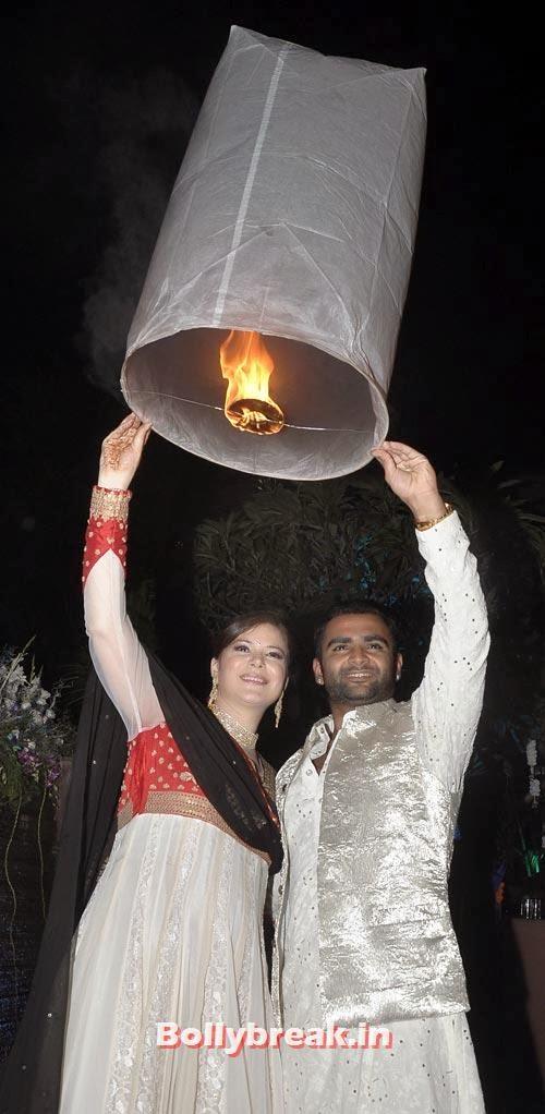 Sachiin Joshi and Urvashi Sharma, Sachiin Joshi and Urvashi Sharma's Diwali Party