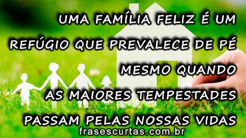 Mensagem para familia